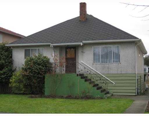 Main Photo: 4431 PERRY Street in Vancouver: Knight House for sale (Vancouver East)  : MLS®# V698984