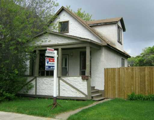 Main Photo: 1123 ABERDEEN Avenue in Winnipeg: North End Single Family Detached for sale (North West Winnipeg)  : MLS(r) # 2603970
