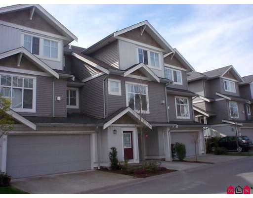 "Main Photo: 7 16760 61ST Avenue in Surrey: Cloverdale BC Townhouse for sale in ""Harvest Landing"" (Cloverdale)  : MLS® # F2708278"