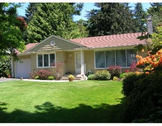 Main Photo: 4724 PHEASANT Place in North_Vancouver: Canyon Heights NV House for sale (North Vancouver)  : MLS® # V649991