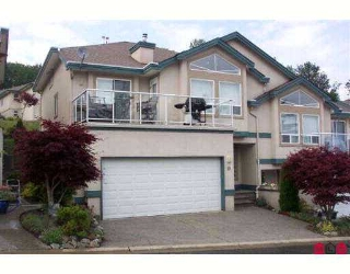 "Main Photo: 10 8590 SUNRISE Drive in Chilliwack: Chilliwack Mountain Townhouse for sale in ""MAPLE HILLS"" : MLS® # H2702548"
