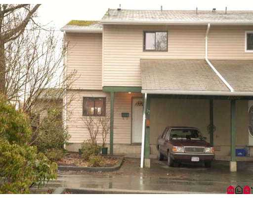 "Main Photo: 20599 51A Ave in Langley: Langley City Townhouse for sale in ""FOREST VIEW"" : MLS®# F2702574"