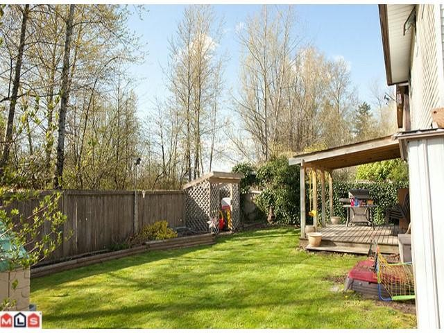 "Main Photo: 3259 268TH ST in Langley: Aldergrove Langley House for sale in ""Parkside"" : MLS® # F1105855"