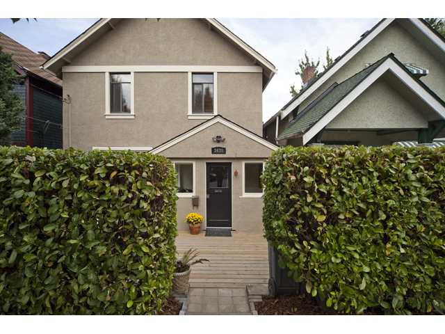 "Main Photo: 3438 SOPHIA ST in Vancouver: Main House for sale in ""MAIN"" (Vancouver East)  : MLS®# V909063"