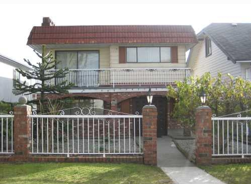 Main Photo: 3482 Franklin Street in Vancouver: Hastings East House for sale (Vancouver East)  : MLS® # V755001