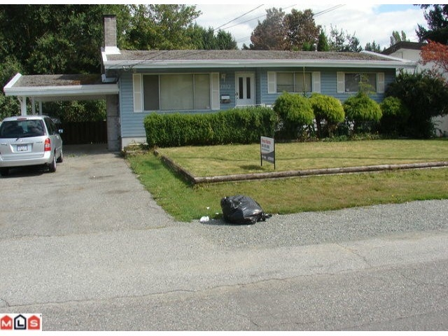 Main Photo: 1902 JACKSON Road in Abbotsford: Central Abbotsford House  : MLS®# f1022791