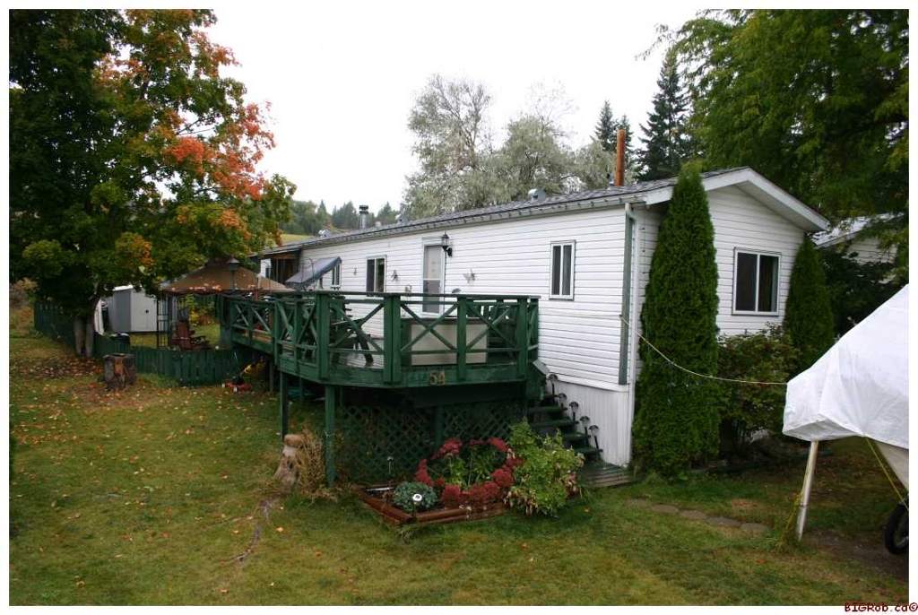 Main Photo: #54; 6588 Hwy 97A in Enderby: MHP Residential Detached for sale : MLS(r) # 10036334