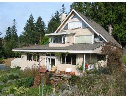 Main Photo: 503 CRAIG'S END BB in Bowen_Island: Bowen Island House for sale : MLS® # V676555