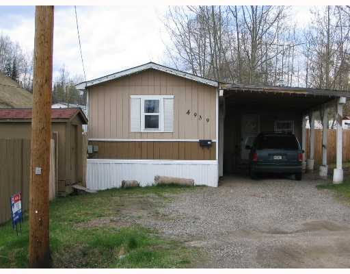 Main Photo: A 4939 RANDLE Road in Prince George: N73HW Manufactured Home for sale (PG City North (Zone 73))  : MLS(r) # N172134
