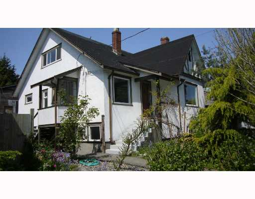 Main Photo: 1207 8TH Avenue in New_Westminster: West End NW House for sale (New Westminster)  : MLS(r) # V647839