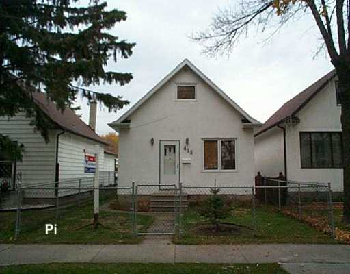 Main Photo: 415 YALE Avenue East in Winnipeg: Transcona Single Family Detached for sale (North East Winnipeg)  : MLS(r) # 2617602