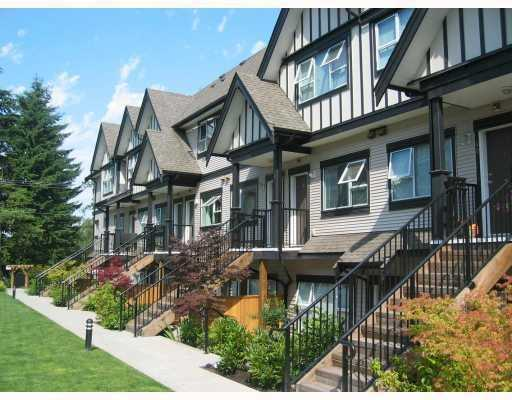 "Main Photo: 40 730 FARROW Street in Coquitlam: Coquitlam West Townhouse for sale in ""FARROW RIDGE"" : MLS® # V667989"