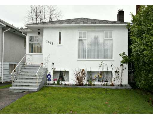 Main Photo: 3468 W 14TH Ave in Vancouver: Kitsilano House for sale (Vancouver West)  : MLS® # V631185