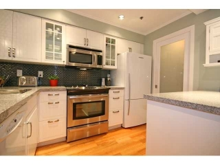 "Main Photo: 3 1350 W 6TH Avenue in Vancouver: Fairview VW Townhouse  in ""Pepper Ridge"" (Vancouver West)  : MLS® # V870232"