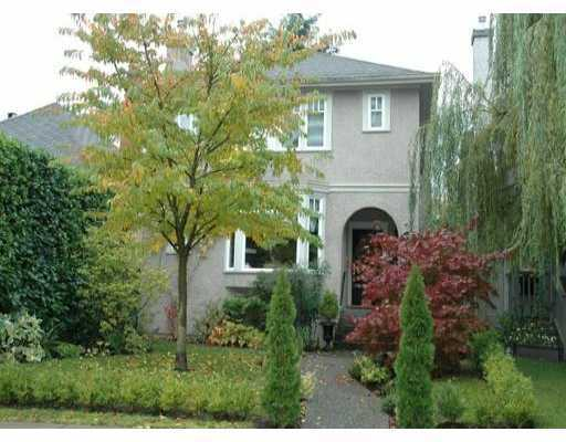 Main Photo: 4668 W 11TH AV in Vancouver: Point Grey House for sale (Vancouver West)  : MLS® # V572031