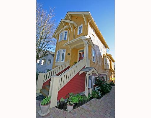 Main Photo: 3530 W 5TH Avenue in Vancouver: Kitsilano House 1/2 Duplex for sale (Vancouver West)  : MLS® # V701973