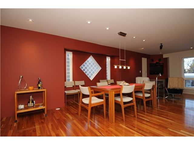 Edmonton Real Estate Central Location Dining Area