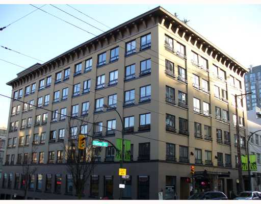 "Main Photo: 207 1216 HOMER Street in Vancouver: Downtown VW Condo for sale in ""MURCHIES BUILDING"" (Vancouver West)  : MLS® # V694235"