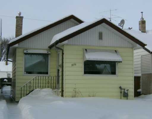 Main Photo: 1056 ASHBURN Street in Winnipeg: West End / Wolseley Single Family Detached for sale (West Winnipeg)  : MLS(r) # 2600583
