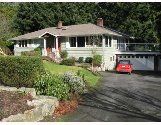 Main Photo: 4431 STONE Crescent in West_Vancouver: Cypress House for sale (West Vancouver)  : MLS(r) # V689902