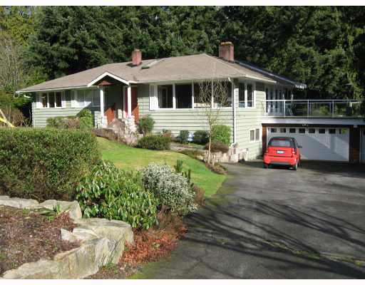 Main Photo: 4431 STONE Crescent in West_Vancouver: Cypress House for sale (West Vancouver)  : MLS®# V689902