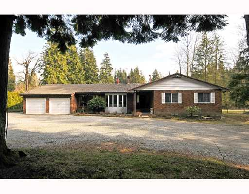 Main Photo: 12606 251ST Street in Maple_Ridge: Websters Corners House for sale (Maple Ridge)  : MLS® # V691278