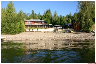 Main Photo: 6017 Eagle Bay Road in Eagle Bay: Waterfront Residential Detached for sale : MLS(r) # SOLD