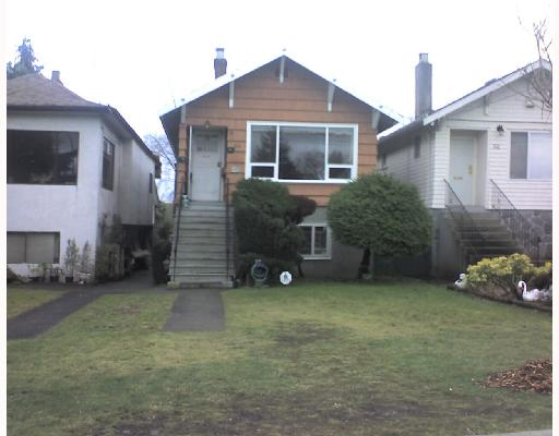 Main Photo: 62 ONTARIO Place in Vancouver: Main House for sale (Vancouver East)  : MLS(r) # V686864
