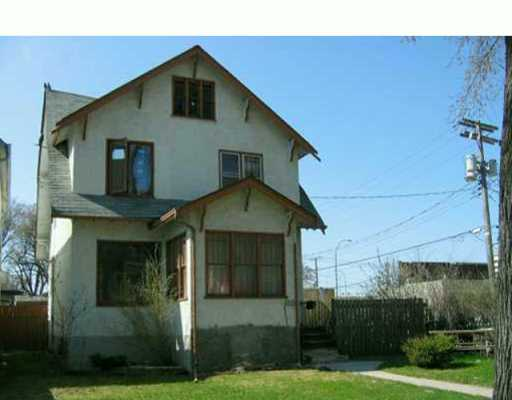 Main Photo: 190 CATHEDRAL Avenue in Winnipeg: North End Duplex for sale (North West Winnipeg)  : MLS(r) # 2605667