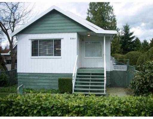 Main Photo: 2561 E 27TH Ave in Vancouver: Collingwood Vancouver East House for sale (Vancouver East)  : MLS® # V637679