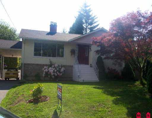 Photo 1: 10832 145A ST in Surrey: Bolivar Heights House for sale (North Surrey)  : MLS® # F2611296