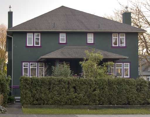 Main Photo: 1994 W 12TH Avenue in Vancouver: Kitsilano House 1/2 Duplex for sale (Vancouver West)  : MLS® # V693088