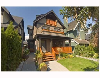 Main Photo: 3171 W 2ND Avenue in Vancouver: Kitsilano House 1/2 Duplex for sale (Vancouver West)  : MLS®# V672584