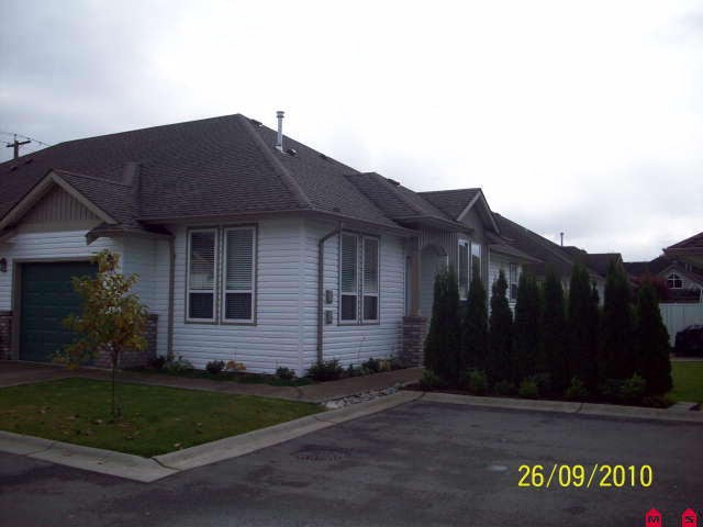 "Main Photo: # 108 1548 MACKAY CR: Agassiz Condo for sale in ""MAGNOLIA ESTATES"" : MLS® # H1004570"