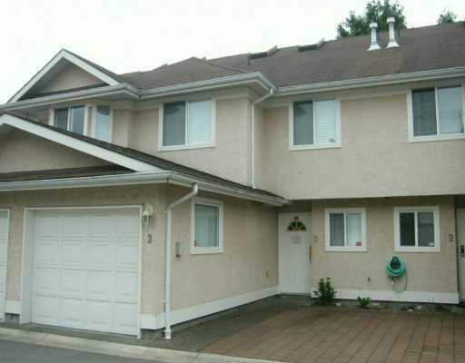 Main Photo: 3 10795 NO 2 Road in Richmond: Steveston North Townhouse for sale : MLS® # V633044