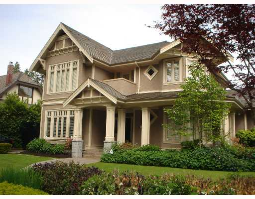 Main Photo: 6038 ADERA Street in Vancouver: South Granville House for sale (Vancouver West)  : MLS(r) # V654238