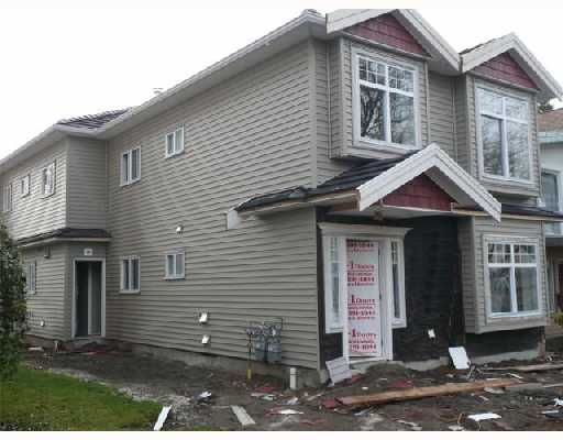 Main Photo: 452 E 44TH Avenue in Vancouver: Fraser VE House 1/2 Duplex for sale (Vancouver East)  : MLS®# V681165
