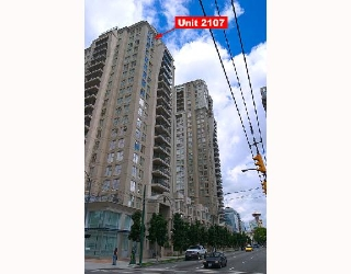 "Main Photo: 2107 989 RICHARDS Street in Vancouver: Downtown VW Condo for sale in ""MONDRIAN"" (Vancouver West)  : MLS® # V713987"