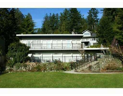 Main Photo: 4785 PICCADILLY RD. S, Caulfeild in West Vancouver: House for sale : MLS® # V824229