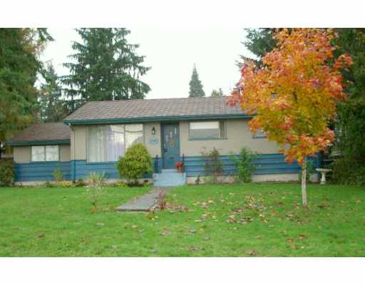 Main Photo: 2147 DAWES HILL RD in Coquitlam: Cape Horn House for sale : MLS(r) # V566309