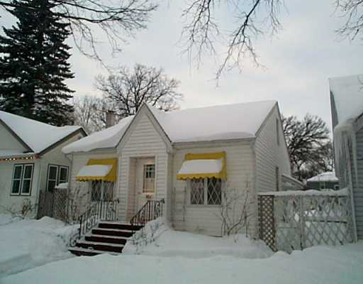 Main Photo: 1161 DORCHESTER Avenue in Winnipeg: Fort Rouge / Crescentwood / Riverview Single Family Detached for sale (South Winnipeg)  : MLS® # 2500264