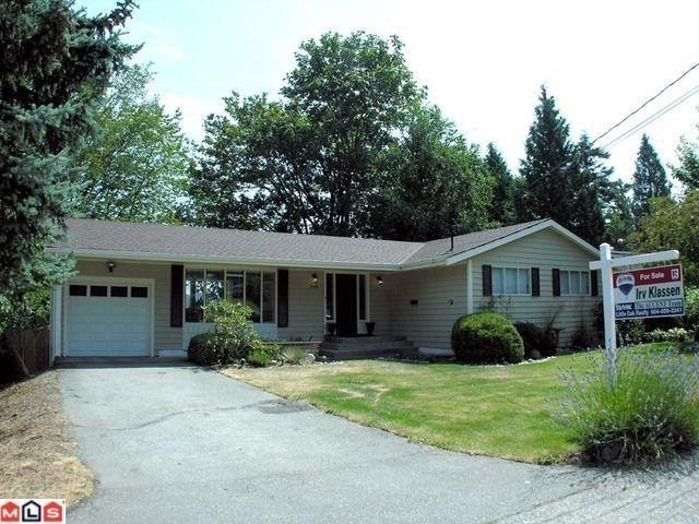 Main Photo: 2568 MENDHAM STREET in Abbotsford: House