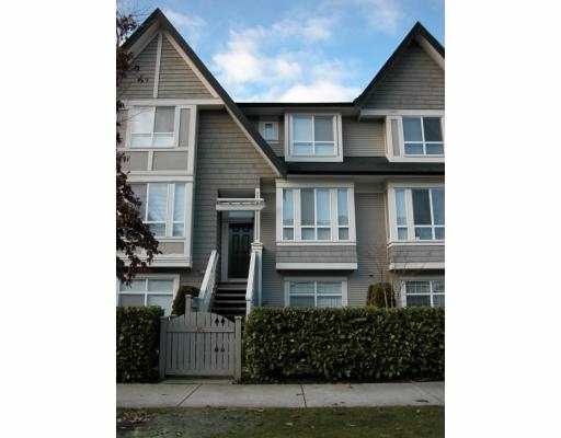 Main Photo: 85 9133 SILLS Avenue in Richmond: McLennan North Townhouse for sale : MLS® # V685164