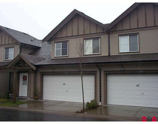 "Main Photo: 46 15868 85TH Avenue in Surrey: Fleetwood Tynehead Townhouse for sale in ""CHESTNUT GROVE"" : MLS®# F2803206"