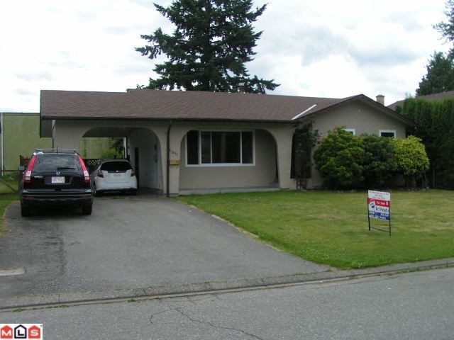 Main Photo: 31894 Madiera Place in Abbotsford: House  : MLS® # f1117455