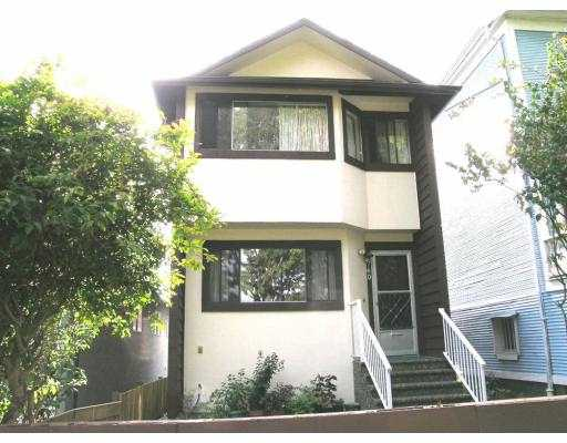 Main Photo: 760 E GEORGIA ST in Vancouver: Mount Pleasant VE House for sale (Vancouver East)  : MLS® # V614850