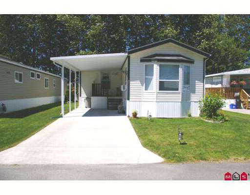 "Main Photo: 47 7610 EVANS Road in Sardis: Sardis West Vedder Rd Manufactured Home for sale in ""COTTONWOOD MHP"" : MLS®# H2703095"