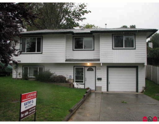 Main Photo: 35319 PURCELL AV in Abbotsford: House for sale : MLS® # F2827398