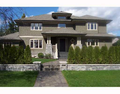 Main Photo: 1437 W 38TH Avenue in Vancouver: Shaughnessy House for sale (Vancouver West)  : MLS® # V641525