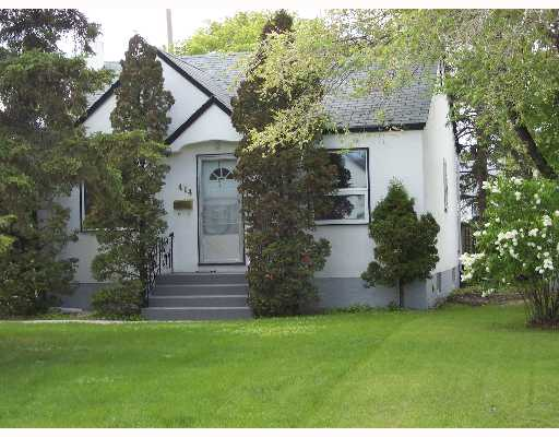 Main Photo: 414 AMHERST Street in WINNIPEG: St James Single Family Detached for sale (West Winnipeg)  : MLS®# 2709306